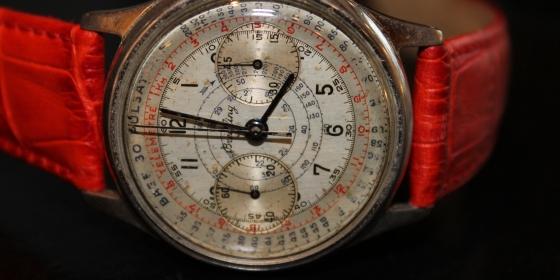 "Orologio ""Breitling"" vintage cronografo – VENDUTO"