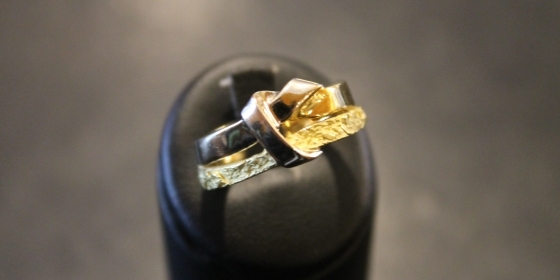 Anello in oro etrusco – VENDUTO