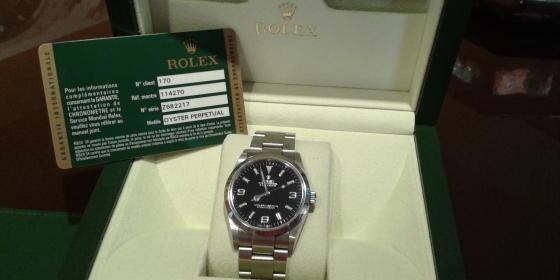 Rolex Explorer I Ref. 114270 – VENDUTO