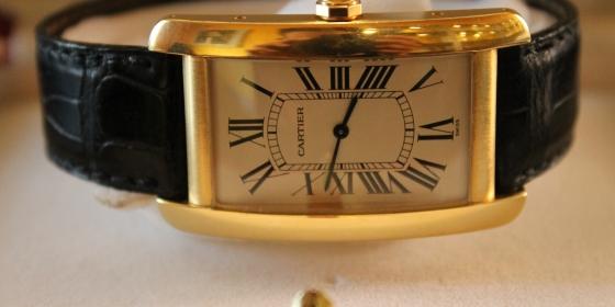Cartier Tank Americaine Gold – VENDUTO