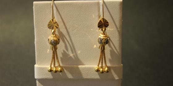 Orecchini Vintage Oro 22kt [Venduti]