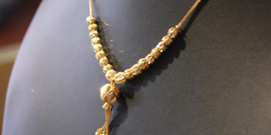 Collana Vintage Oro 22kt Venduta