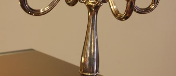 Candelabro in argento [Venduto ]