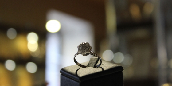 Anello Vintage con Diamanti [Venduto]