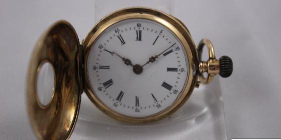 Orologio da tasca Remontoir Cylindre 8 Rubis