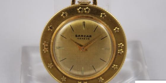 Watch Coin Pendat Sarcar Genève