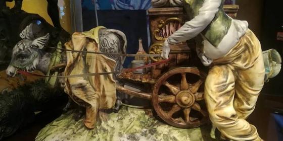 Porcellana di Capodimonte – il Cantastorie di altri tempi