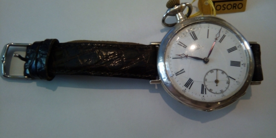 Converted Omega Pocket Watch