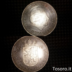 moneta 10 gulden 1973